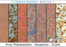 Urban Textures: Rust Vol. 1 - Full Permissions