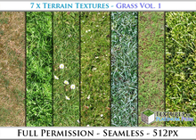Terrain Textures: Grass Vol. 1 - Full Permissions
