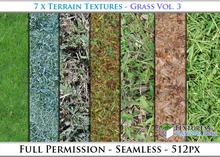 Terrain Textures: Grass Vol. 3 - Full Permissions