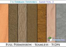 Terrain Textures: Sand Vol. 3 - Full Permissions