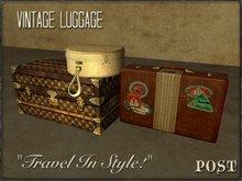 POST: Vintage Luggage