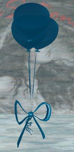 Sculpt Latex Party Balloons - Navy Blue