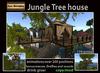 PROMO  300 OFF! Jungle Tree House