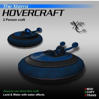 Hovercraft V.1.4 - Blue - Xterra Hovercrafts
