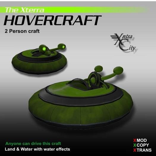 Hovercraft V.1.4 - Green - Xterra Hovercrafts