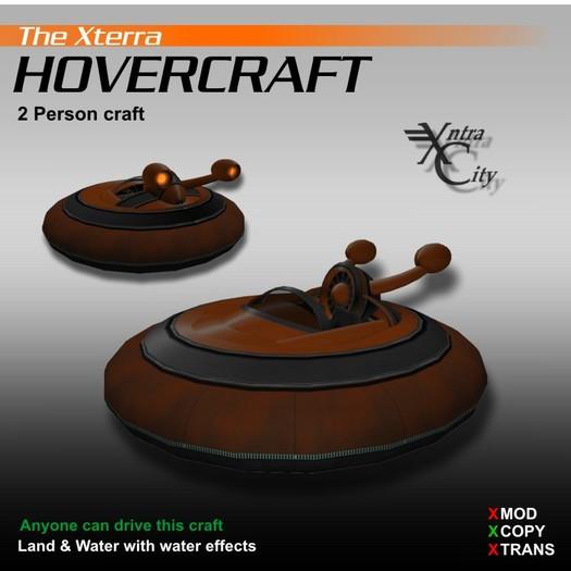 Hovercraft V.1.4 - Orange - Xterra Hovercrafts