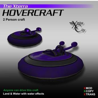 Hovercraft V.1.4 - Purple - Xterra Hovercrafts