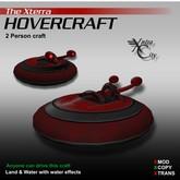 Hovercraft V.1.4 - Red - Xterra Hovercrafts