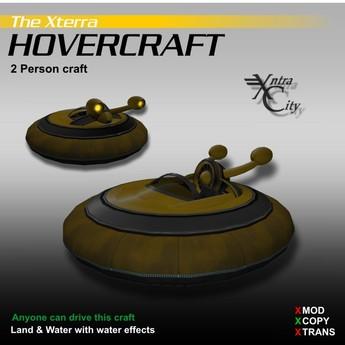 Hovercraft V.1.4 - Jaune - Aéroglisseurs Xterra