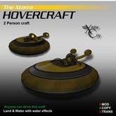 Hovercraft V.1.4 - Yellow - Xterra Hovercrafts