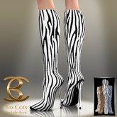 BAX Prestige Boots Zebra