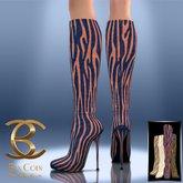BAX Prestige Boots Vogue Zebra