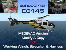 Eurocopter EC-145 MedEvac Rescue Helicopter