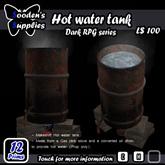 Makeshift Hot water tank (Box)