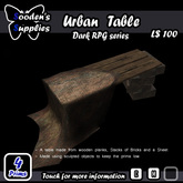 Urban Table (Box)