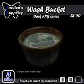Wash Bucket (Box)