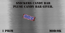 snickers candy bar pluse giver