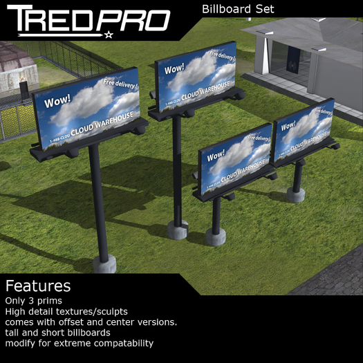 Tredpro Billboard Set