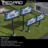 Tredpro Billboard Set