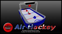 Playable Air Hockey