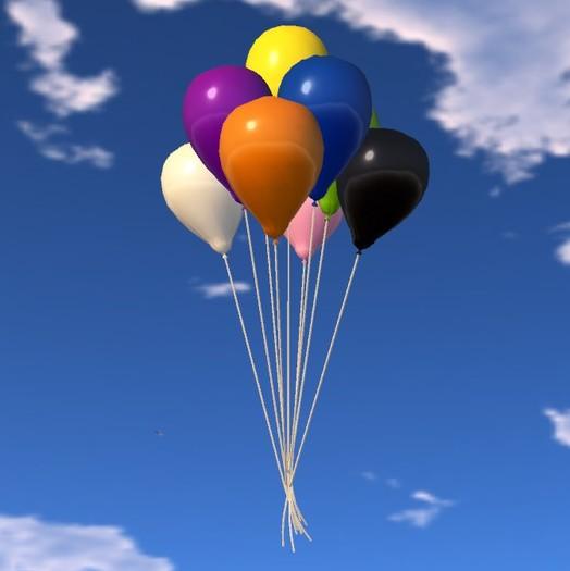 Balloon Bunch - Primary Colors - COPY - Xntra City Balloons