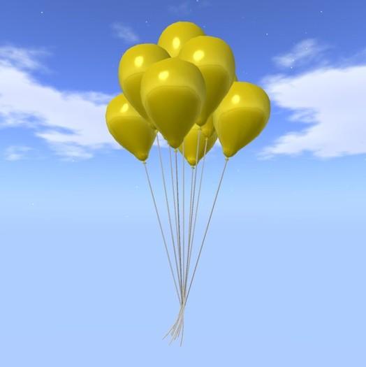 Bunch balão - Amarelo - COPY - Balões Cidade Xntra