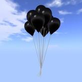 Balloon Bunch - Black - COPY - Xntra City Balloons