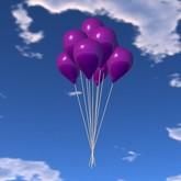 Balloon Bunch - Purple - COPY - Xntra City Balloons