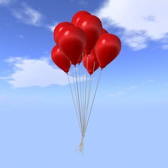 Balloon Bunch - Red - COPY - Xntra City Balloons