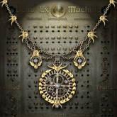 """""""Deus ex machina"""" vintage neo - victorian steampunk necklace"""