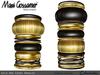 Bangles - Gold and Ebony jewellery