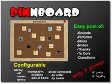 pinboard/Bulletin Board/message board