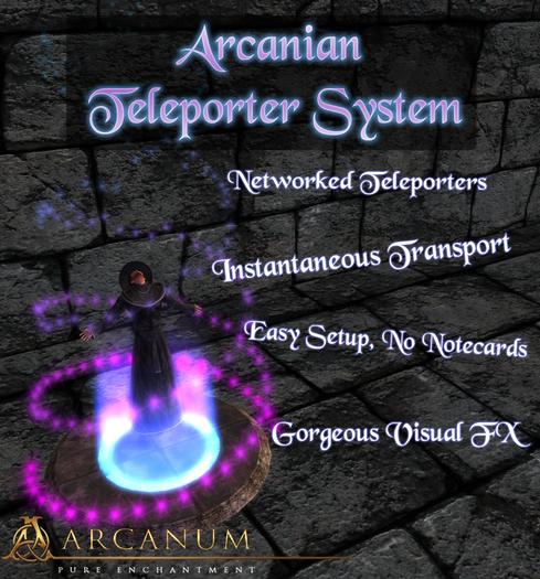Wizard's Teleporter (Simwide Teleport Network)