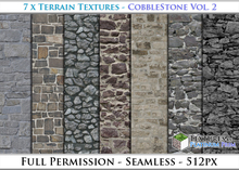 Terrain Textures: Cobblestone Vol. 2 - Full Permissions