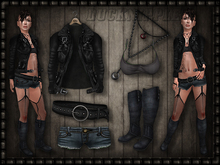 SLX Outfit: Biker girl
