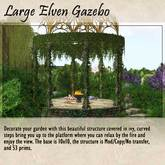 Large Elven Gazebo Boxed
