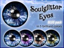 GIFT *Soulglitter* Eyes BLUE BOX