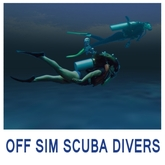OFF SIM SCUBA DIVERS