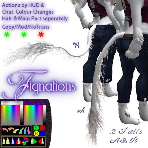 *Fig* Unicorn Tail Style  A&A2&B 1.2
