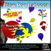 Blow Up & POP Latex Balloon - Xntra City Balloons