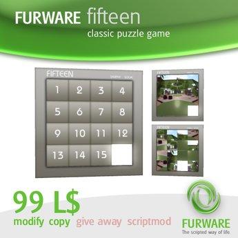 FURWARE fifteen - Classic puzzle game