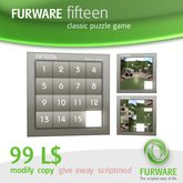 FURWARE fifteen - Classic puzzle game