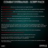 Combat HUD - Script Pack/Kit (remastered)