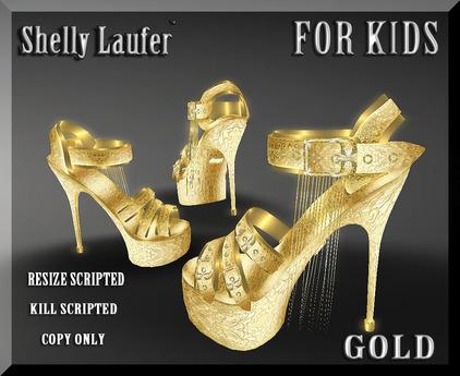 Shelly Laufer Platform High Heel Shoes