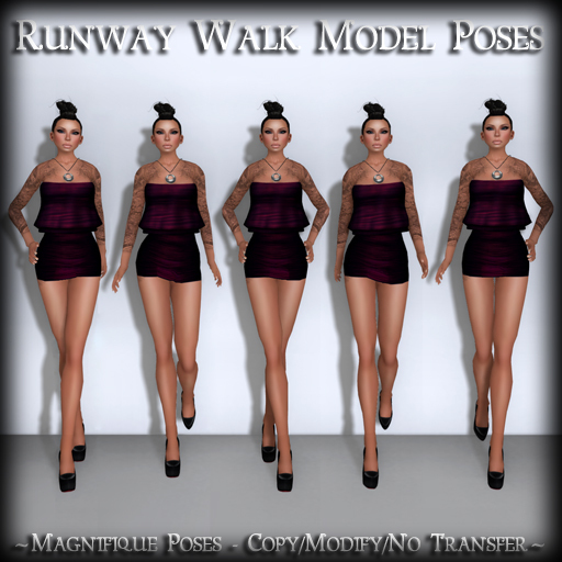 *MP* Runway Walk (Model Poses)