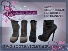 TWO BOOTS VIOLET GIRL