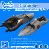Iron stiletto (model Only)