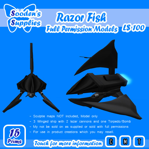 Razor Fish (model Only)