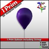 Balão - roxo - Transferência - Balões Cidade Xntra