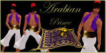 :;FIERCE DESIGNS:: ARABIAN PRINCE COSTUME::